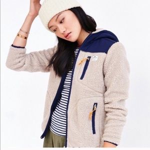 Madewell x Penfield Sherpa Zip Jacket